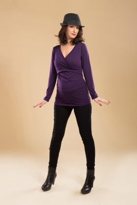Maternity Super-Skinny Pants - Black