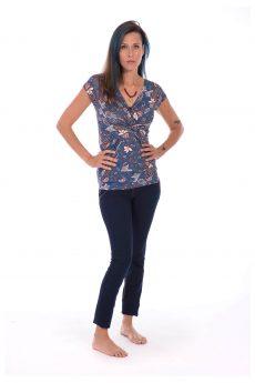 חולצת הנקה - דנה פרחונית