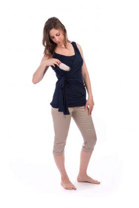 חולצת הנקה – אמה כחול