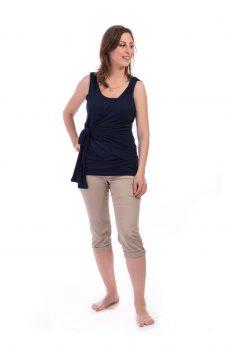 חולצת הנקה אמה בצבע כחול
