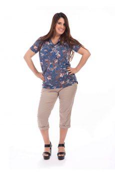 חולצת הריון גילת בצבע פרחוני