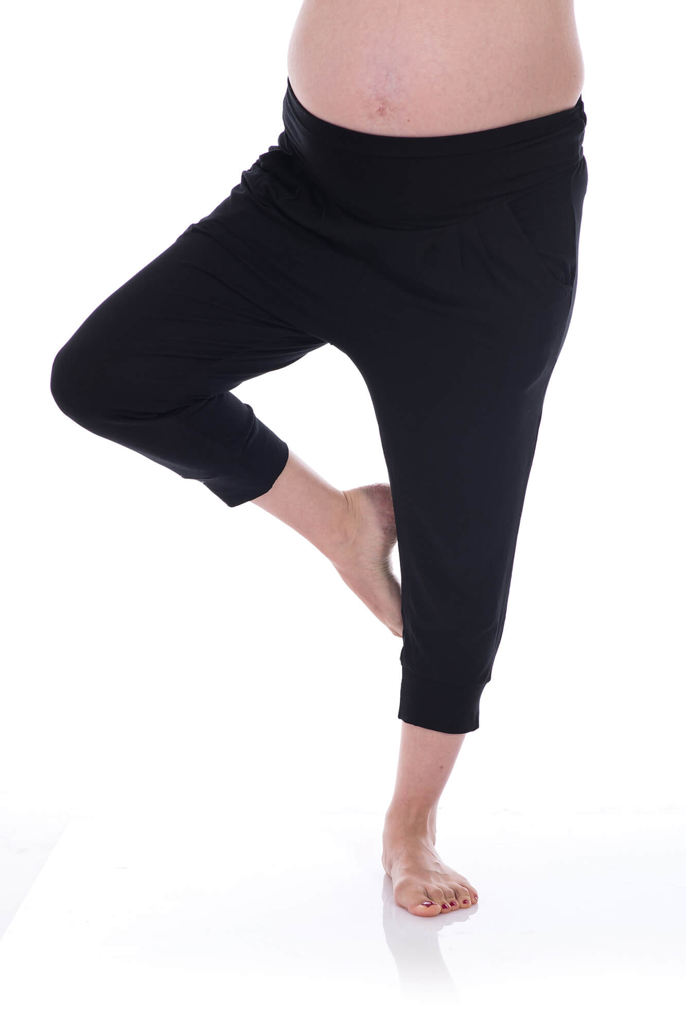 Harmon – Maternity Yoga Pants – Seven Eighths