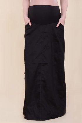 חצאית להריון מקסי שחור