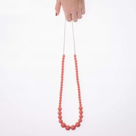 Gradual Silicon Necklace - Peach