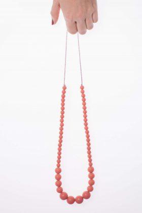 Gradual Silicon Necklace - Peach