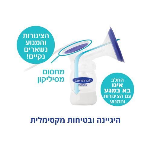 משאבת הנקה - היגיינה ובטיחות