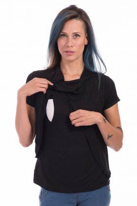 חולצת הנקה – גילת שחור