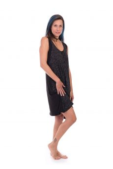 Breastfeeding Dress - Liby - Black Printed