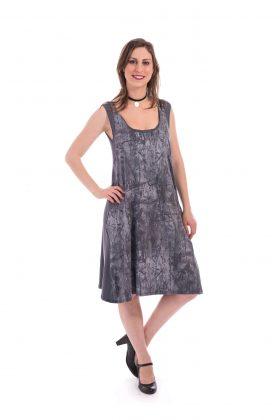 Breastfeeding Dress - Liby - Gray Printed