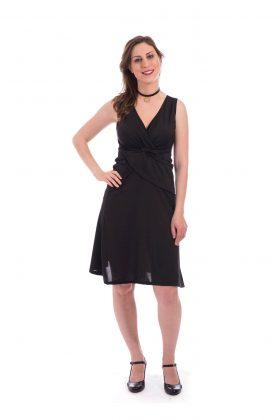 Breast Feeding Dress - Lital - Black