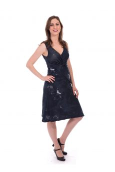 Breast Feeding Dress - Lital - Blue