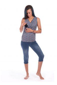 חולצת הנקה - ניצן פרחוני