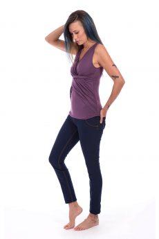 חולצת הנקה - ניצן סגול