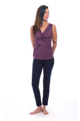 חולצת הנקה – ניצן סגול