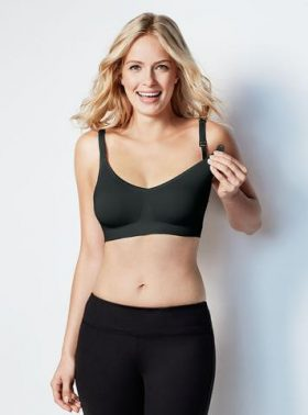 Bravado® Body Silk Seamless Nursing Bra - Black