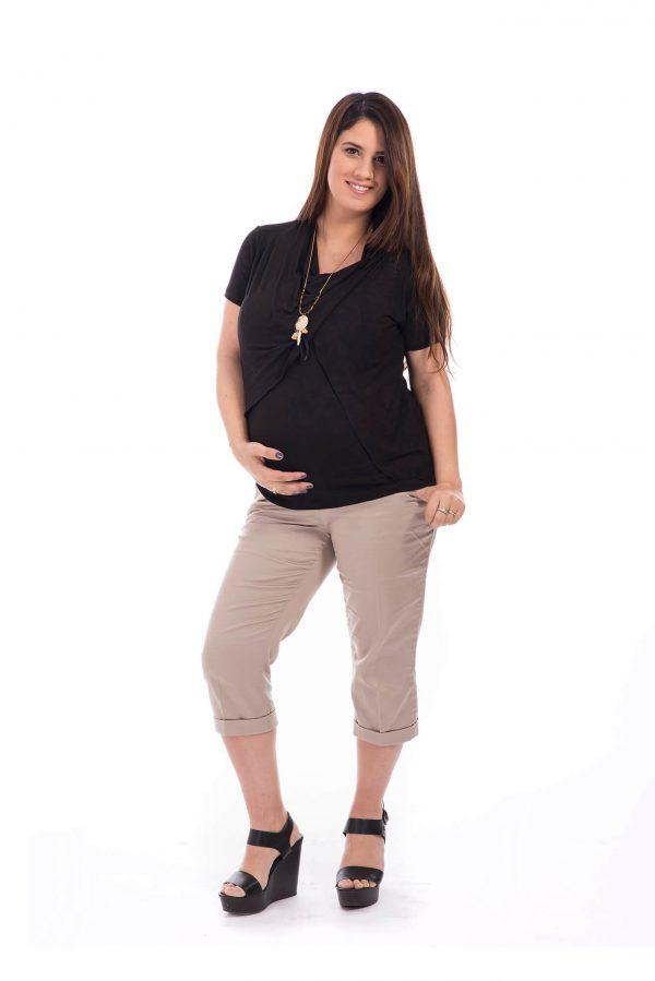 חולצת הריון – גילת שחור