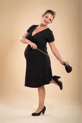 שמלת הריון - מיכל שחור