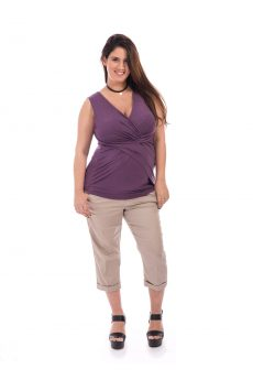 Maternity Top - Nitzan - Purple