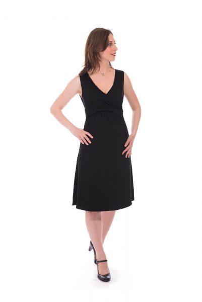 שמלת הריון - איה שחור