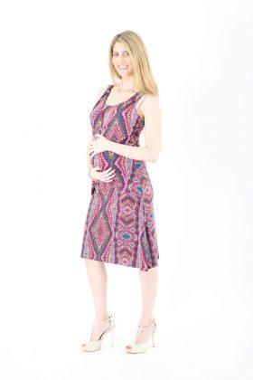 שמלת הריון - סוניה הדפס