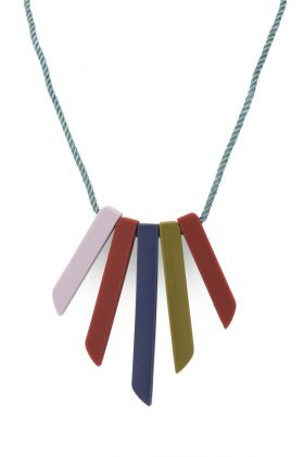 Graded Silicon Necklace – Nectarine