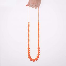 Graded Silicon Necklace - Nectarine