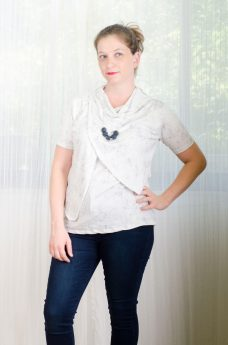Maternity Blouse - Gilat - White