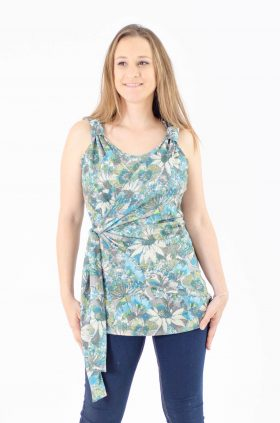 Breast Feeding Blouse - Emma - Flowery