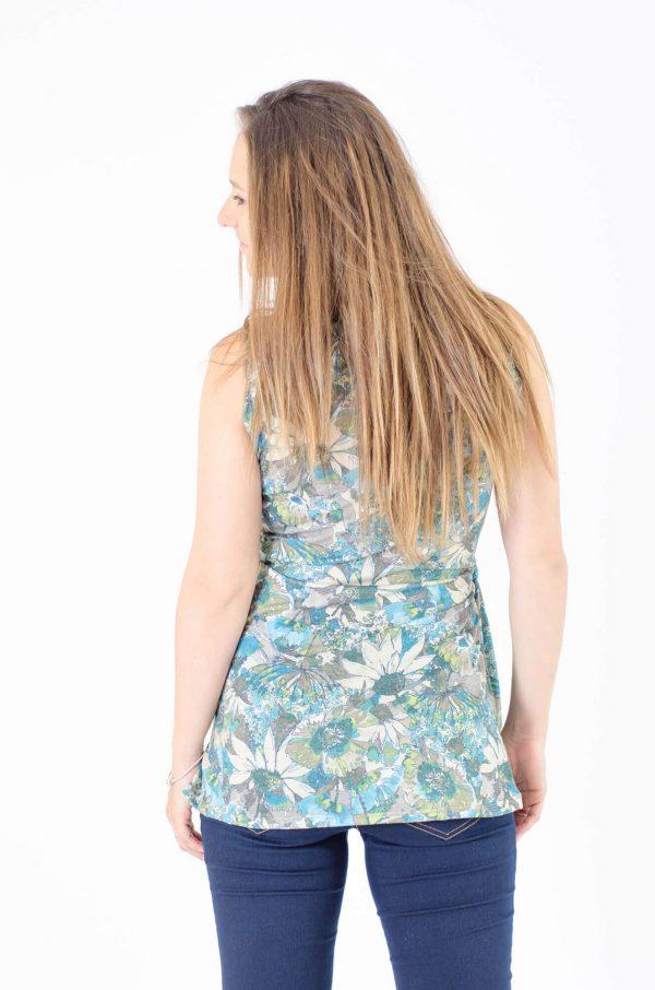 Breast Feeding Blouse - Emma - Flowery