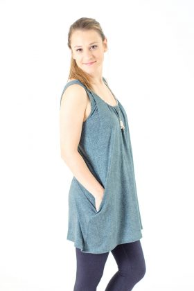 Breast Feeding Tunic - Lena - Printed