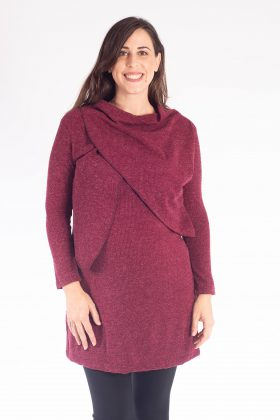 Gal – Breastfeeding Tunic – Red