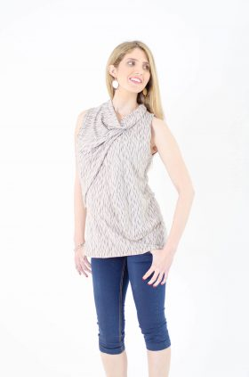 Maternity Tank Top - Inbar - Printed