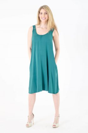 Maternity Dress - Liby - Green