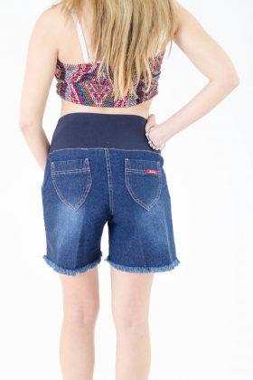 מכנס ג'ינס קצר להריון