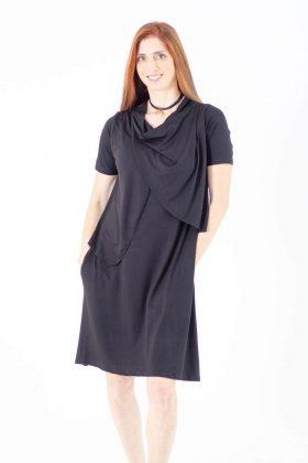 Breast Feeding Dress - Efrat - Black