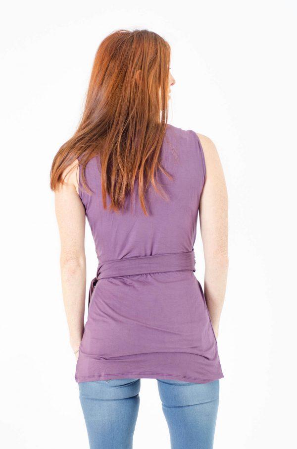 חולצת הנקה אמה בצבע סגול