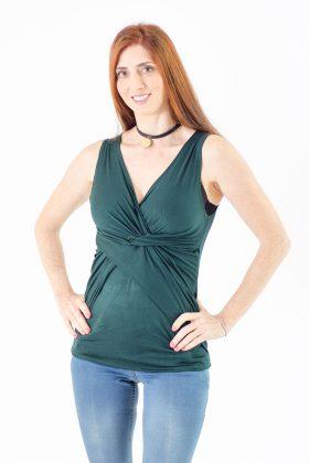 חולצת הנקה – ניצן ירוק