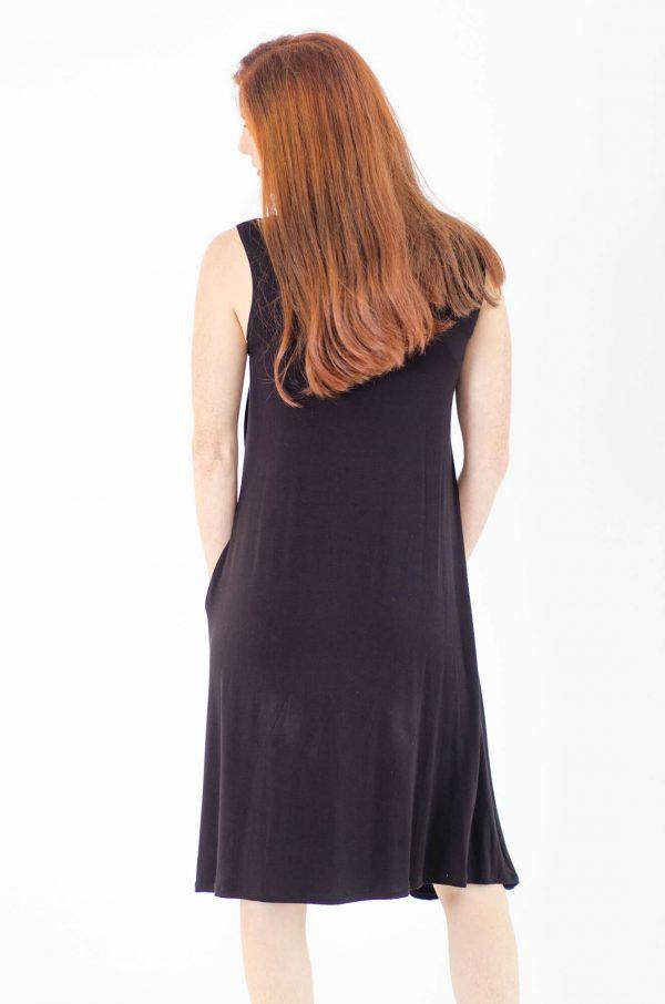 שמלת הריון והנקה - ליבי שחור