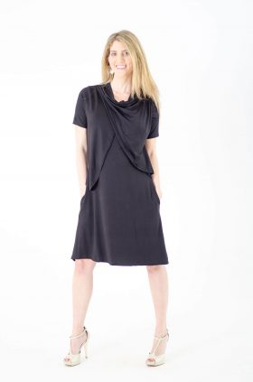 Maternity Dress - Efrat - Black
