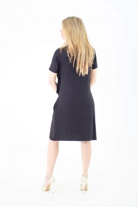Maternity Dress – Efrat – Black