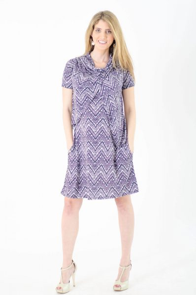 שמלת הריון - אפרת מודפס