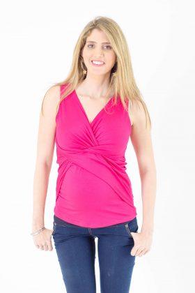 Maternity Top – Nitzan – Pink