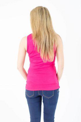 חולצת הריון – ניצן ורוד