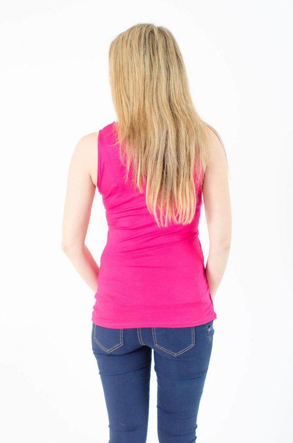 חולצת הריון ניצן בצבע ורוד