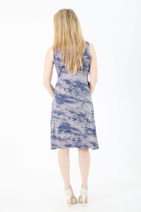 Maternity Dress – Sonya – Blue Gray