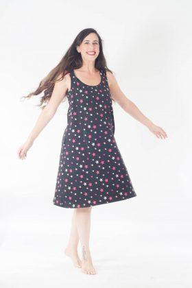 שמלת הנקה – ליבי שחור כוכבים