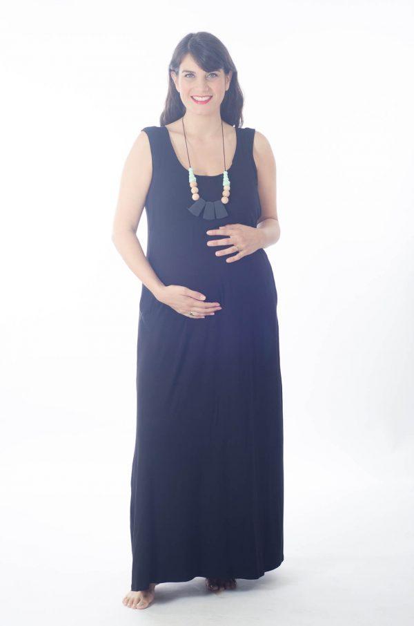 שמלת הנקה - אנה שחור