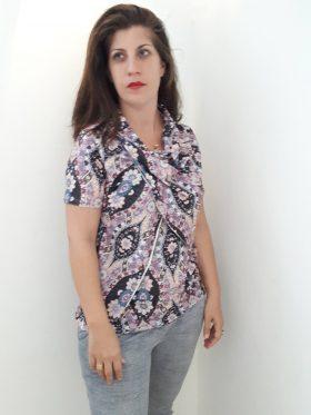 חולצת הנקה – גילת פרחונית