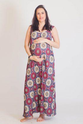שמלת הנקה – אנה מודפס