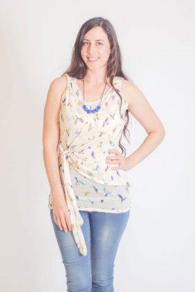 חולצת הנקה - אמה ציפורים
